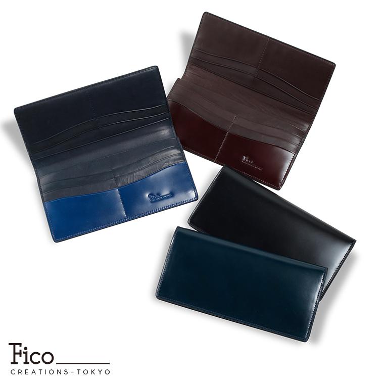 【Fico】 フィーコ CORDOVAN NUOVO コードバンヌオーボ メンズ 財布 長財布 コードバン