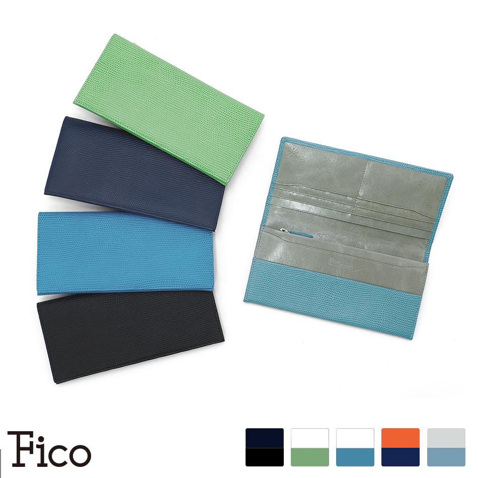 【Fico】 フィーコ FLIZARD メンズ 長財布 レザー 財布 純束入れ エフリザードC