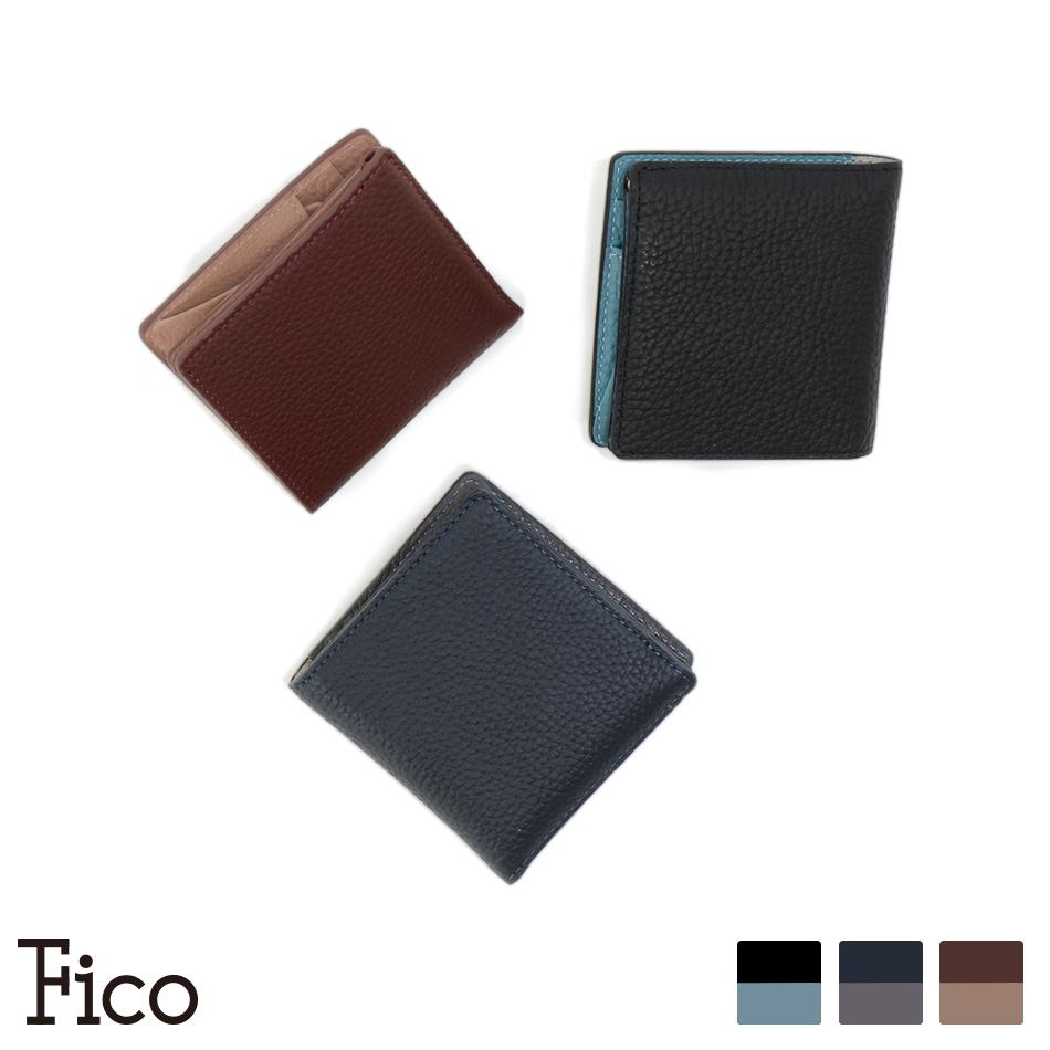 【Fico】FACCE フィーコ ファッチェ マネークリップ二つ折り財布