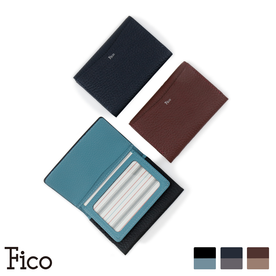 【Fico】FACCE フィーコ ファッチェ パスケース名刺入れ