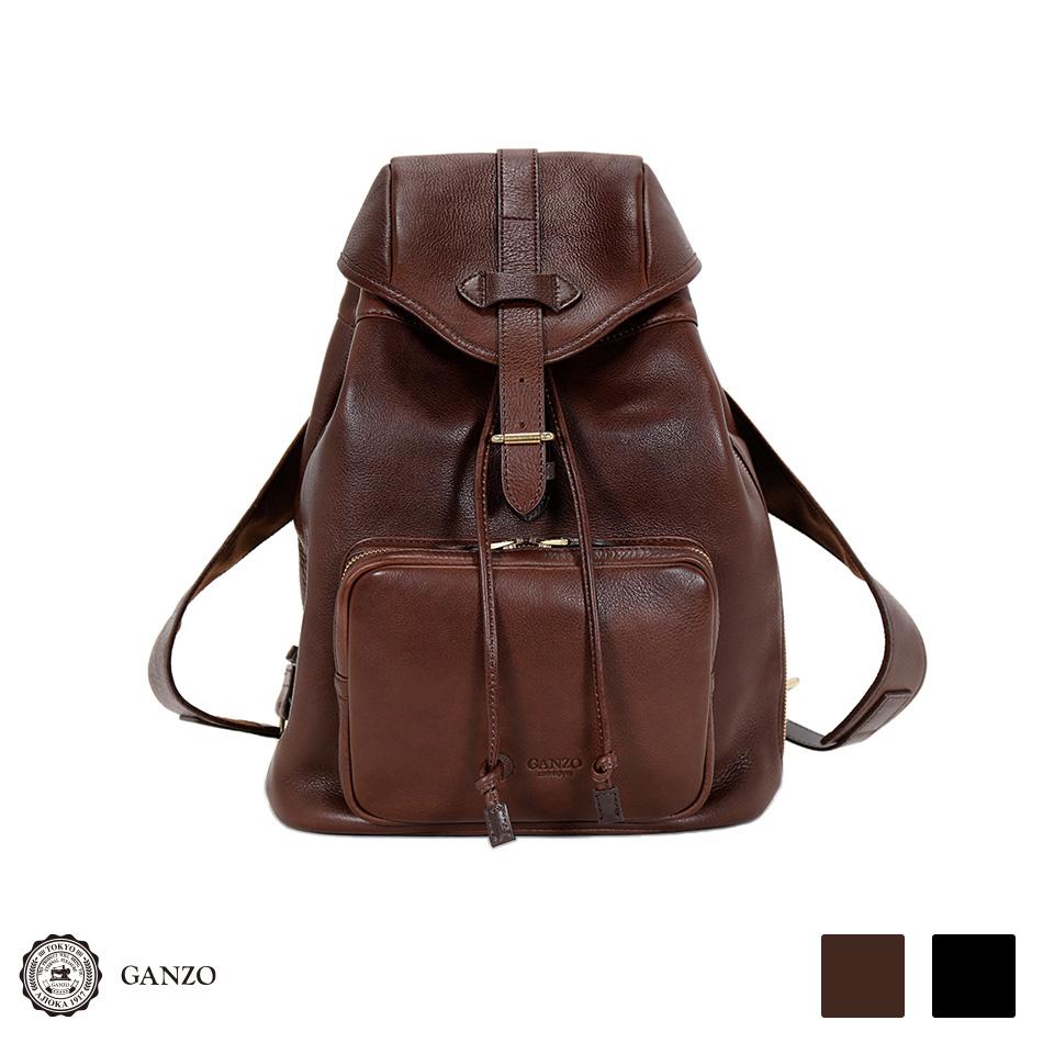 【GANZO】 ガンゾ 7QS-H リュック かぶせリュックサック メンズバッグ
