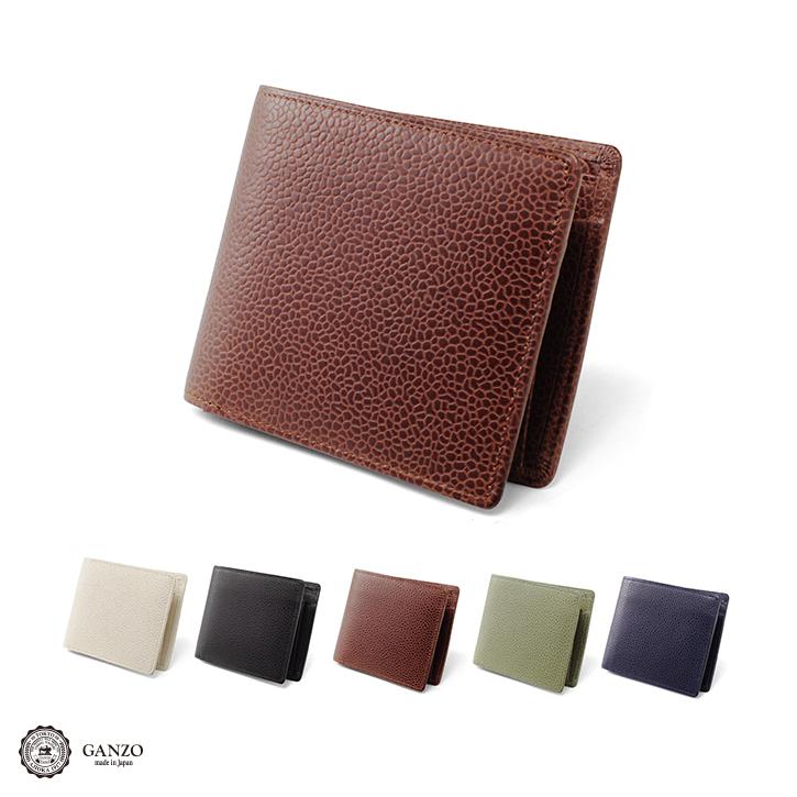 【GANZO】 ガンゾ GD ジーディー メンズ 財布 日本製 2つ折り財布