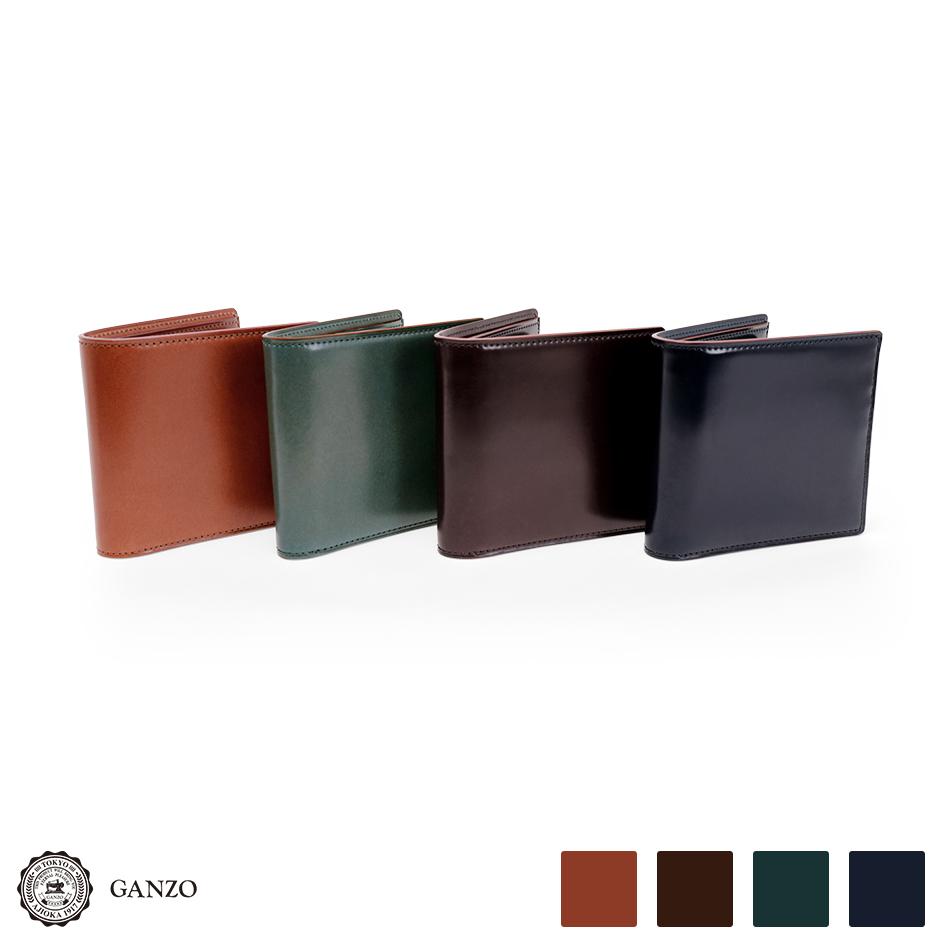 【GANZO】CORDOVAN LUCIDA ガンゾ コードバンルチダ 二つ折り財布