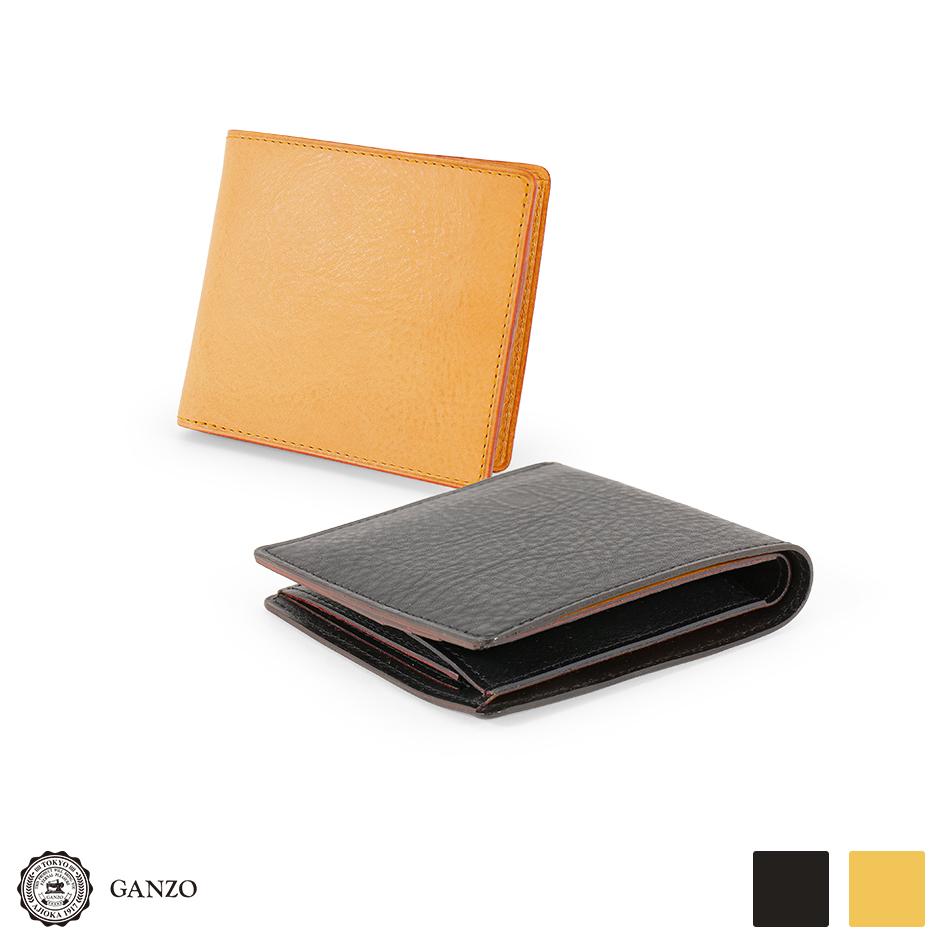 【GANZO】Minerva Natural ガンゾ ミネルバナチュラル 二つ折り財布(新型)