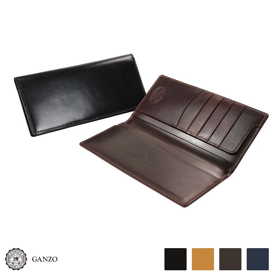 【GANZO】 ガンゾ Shell Cordovan 2 シェルコードバン2 メンズ 長財布 日本製 レザー 馬革