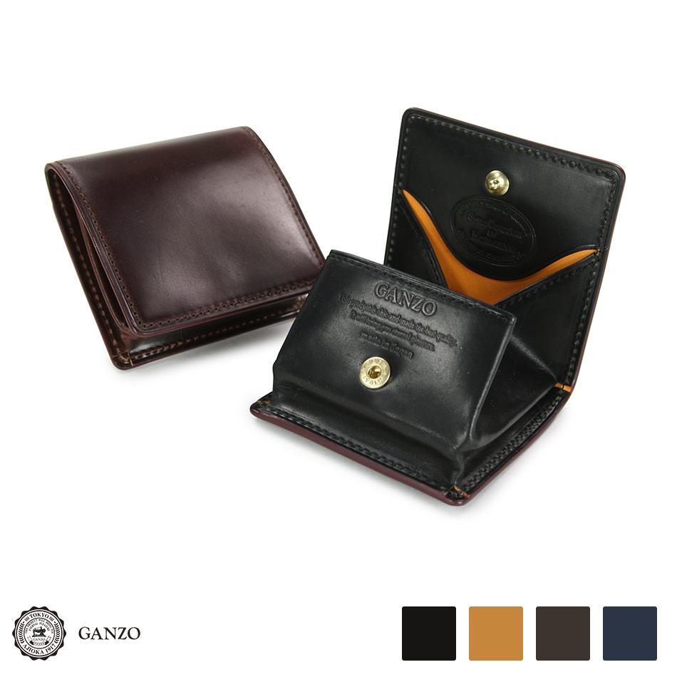 【GANZO】 ガンゾ Shell Cordovan 2 シェルコードバン2 BOX小銭入れ 財布 日本製 メンズ