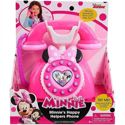 ディズニージュニア ミニー ハッピーヘルパー 5%OFF 電話 MINNIE Happy Helpers Phone 誕生日 クリスマス ミニーちゃん ミニーマウス フォン おもちゃ 特価キャンペーン