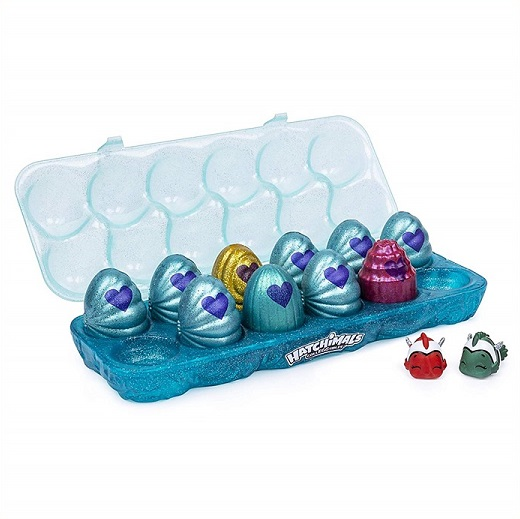 【Hatchimals】 CollEGGtibles うまれて!ウーモ ミニ 12個セット シーズン5 Mermal Magic/12個パックおもちゃ/お誕生日/クリスマスプレゼント