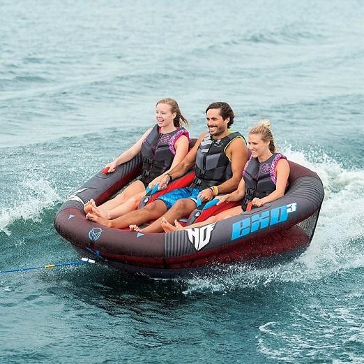 【送料無料】 HO SPORTS EXO3 3人乗り トーイングチューブ トーイングロープ&チューブポンプ付き ウォータートイ/ジェット/ボート/マリンスポーツ/チューブ/浮き輪/ウェイクボード/ウェイク/バナナボート/海水浴