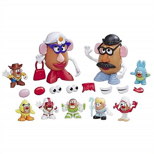 トイストーリー 4 Mr.POTATO HEAD ミスターポテトヘッド 61ピース以上のパーツ付き Toy Story 4 Andy's Playroom Potato Pack PLAYSKOOL/ポテトパック/ディズニー/ クリスマス/フィギュア/人形/ハスブロ