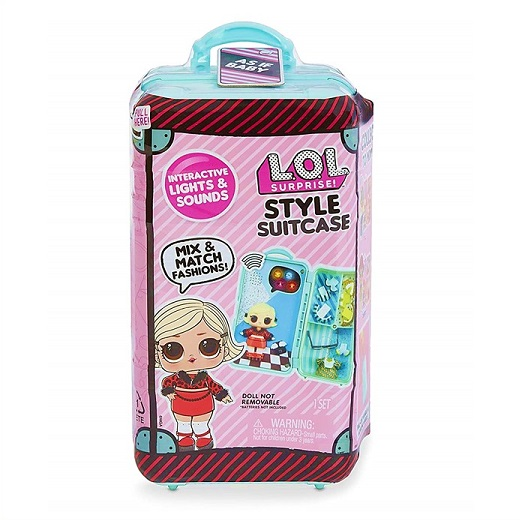 【L.O.L. Surprise 】 LOL サプライズ スタイル スーツケース ベビー Style Suitcase Interactive Surprise - As if Baby /おもちゃ/人形/女の子用/プレゼント/lolサプライズ