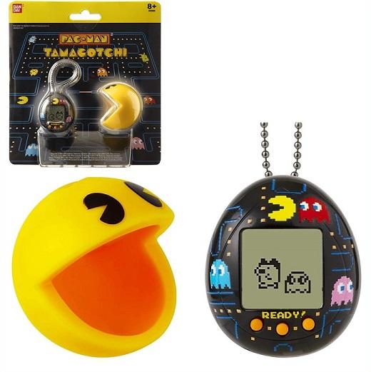 パックマン たまごっち カバー付き ブラック Tamagotchi Deluxe PAC-Man with Case プレゼント おもちゃ クリスマス 期間限定お試し価格 誕生日 限定特価 男の子 Black Maze -