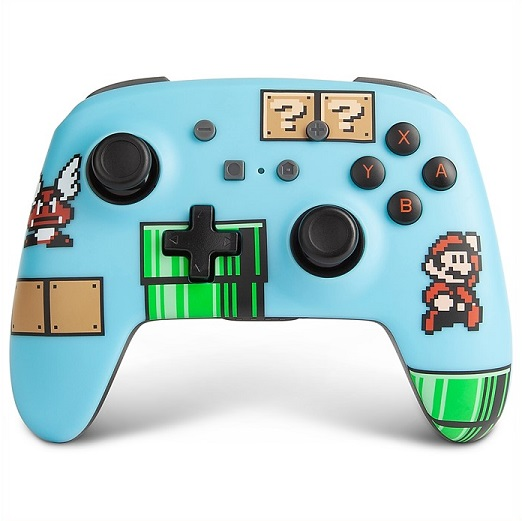 Nintendo 売却 Switch ニンテンドー スイッチ ワイヤレスコントローラー スーパーマリオブラザーズ3 PowerA 任天堂 タイムセール 充電式 スウィッチ マリオ ビンテージ 無線 コントローラー レトロ