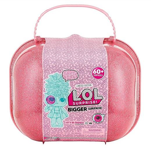 【L.O.L. Surprise 】LOL サプライズ シリーズ3 Bigger Surprise! ビッグサプライズ 限定版 60+サプライズ おもちゃ/人形/女の子用/プレゼント/lolサプライズ