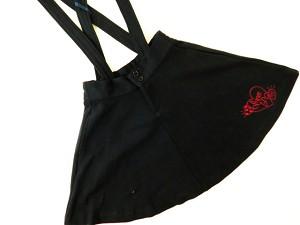 (定価6600円+税をSALE)INNER PRESS(おすすめ)インナープレス肩紐付きスカート(140cm、150cm、160cm)