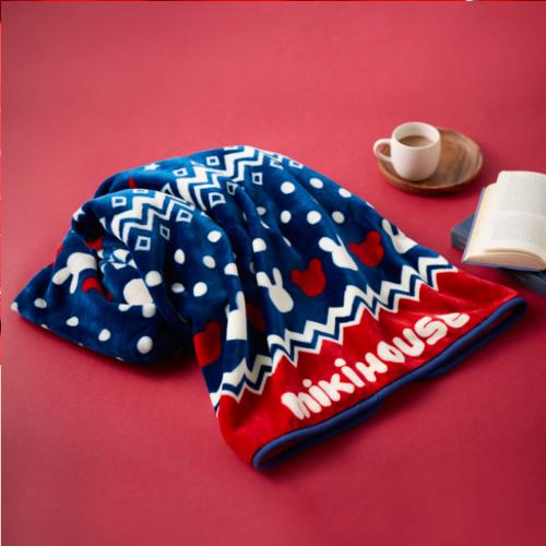 ノベルティミキハウス(mikihouse)クリスマス企画フリースブランケット(お買上32400円以上でご注文してね!)