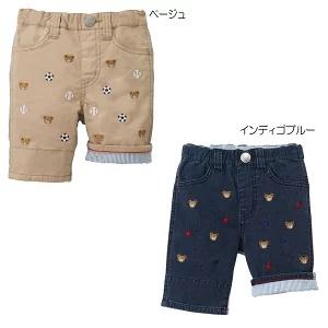 (送料無料)ミキハウス(mikihouse)プチプッチー7分丈パンツ(110cm)