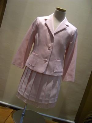 【スーパーSALE】↓50%OFF(定価24800円+税をSALE)ポンポネット(フォーマル)ジャケット・スカート(ペチコート付)スーツ(120cm)