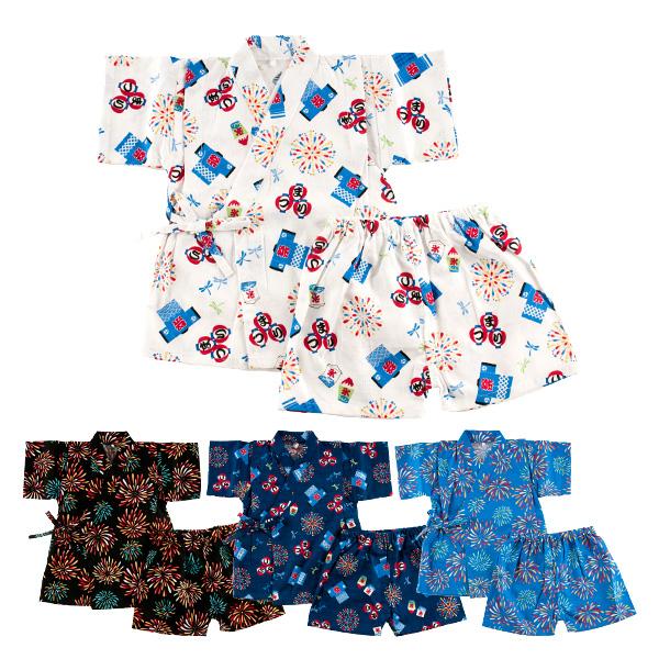 7db7434e1 Japanese Kimono Jinbei Kids Boys Shirt + Pants Outfits Clothes 2Pcs/Set ;  Fire flowers, Matsuri