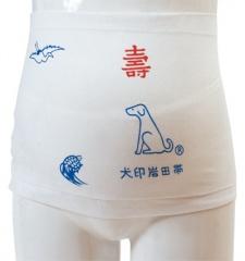 帯祝いに最適な パッケージと鶴亀犬のプリント入り晒 往復送料無料 人気アイテム さらし腹帯 いわた 犬印本舗 新商品 HB8011 02P03Dec16