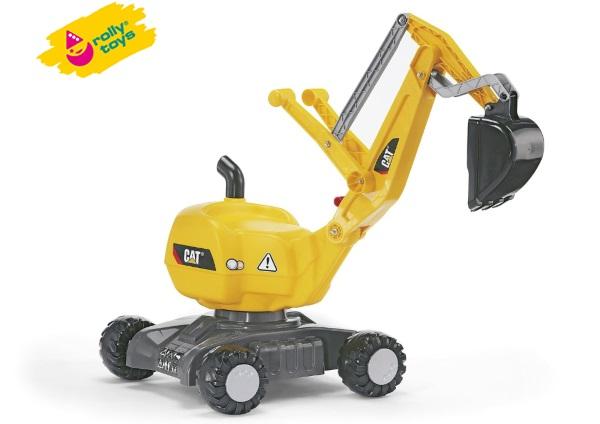 Rolly Toys(ロリートイズ) ロリーディガー ディガーCAT (RT421015) はたらく車の乗用玩具   02P03Dec16