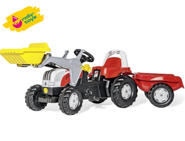 Rolly Toys(ロリートイズ) ロリーキッズ ステアキッズ (RT023936) はたらく車の乗用玩具   02P03Dec16