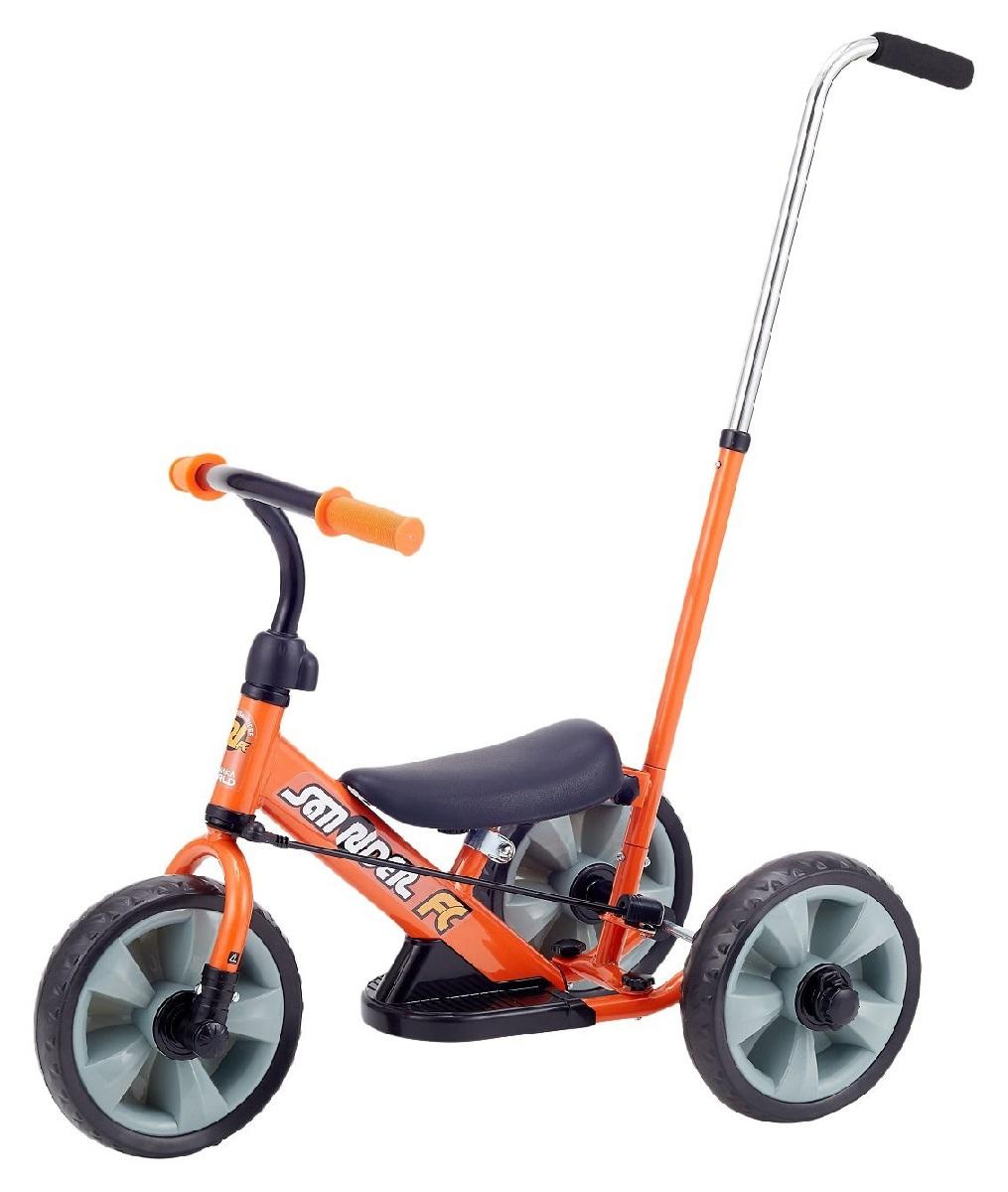 【ワールド】へんしん!サンライダーFC(3392 オレンジ) 三輪車/おもちゃ/バースデープレゼント