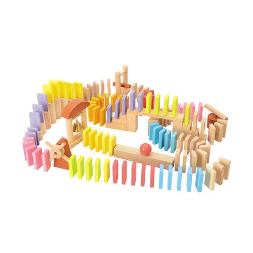 【ニチガン】ドミノ100 (BB42)日本製/木製玩具/木のおもちゃ/知育玩具   02P03Dec16