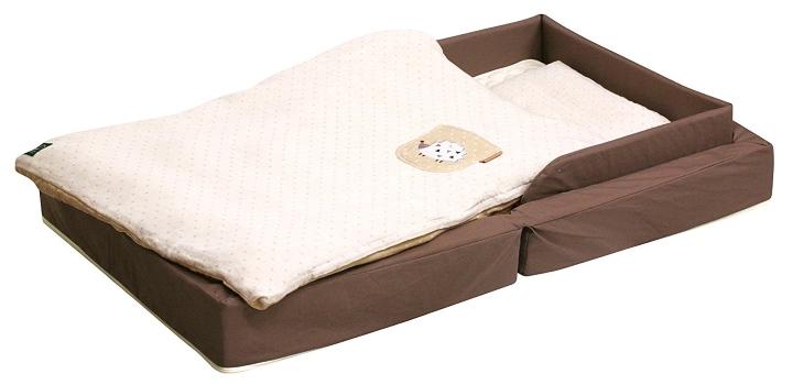 ファルスカ コンパクトベッド フィットL オーガニック モカ (746098)レギュラーサイズ布団セット/グランドール/farska/ベッド小物/ベビー用品/寝具/布団/クッション
