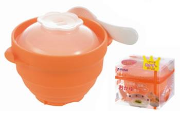 離乳食の手作りを応援するグッズ リッチェル お買い得品 離乳食シリコンスチーマー 2020 新作 離乳食調理 02P03Dec16