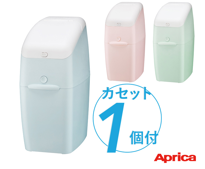 消臭 も 抗菌 防臭 までできる紙おむつ処理ポット お買い得 商品追加値下げ在庫復活 アップリカ ニオイポイ カセット1個付 本体 ペールピンク Aprica PK BL ペールミント ペールブルー GN NIOI-POI