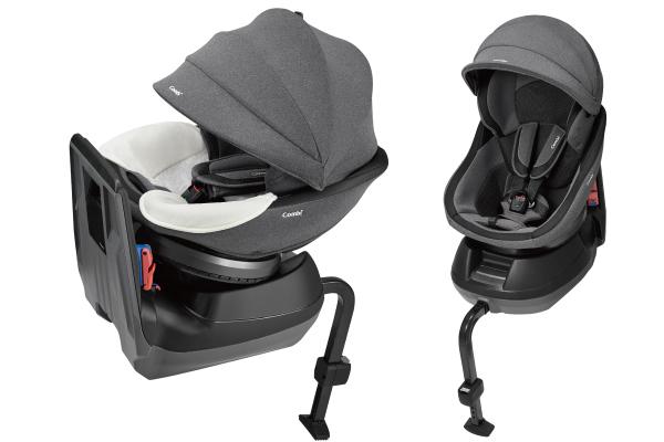 【コンビ】クルムーヴ スマート エッグショック JJ-600 グレー(GL)/ベルト固定タイプ/新生児から4才頃まで  【Combi】