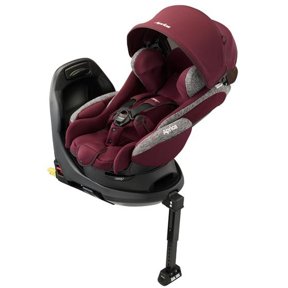 【アップリカ/Aprica】フラディア グロウ ISOFIX AC ヴィンヤードワイン RD 2018年/Fladea チャイルドシート/ベッド型/新生児用/乳児用