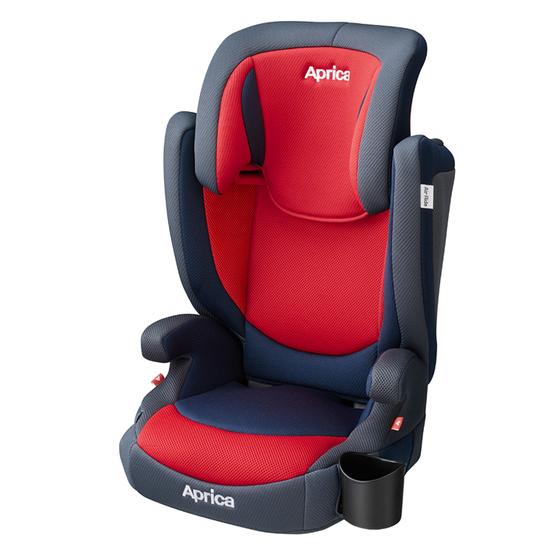 【アップリカ】ジュニアシート エアライド AC レーシングレッド RD 2020年/3歳頃から/ハイバック/ブースター/2WAY/Air Ride/エア ライド【Aprica】
