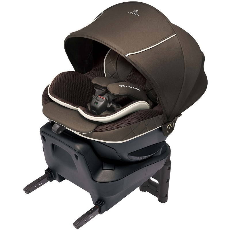 【エールベベ カーメイト】クルット 6i グランス グランブラウン BF951/ISOFIX取付/新生児からの回転式チャイルドシート/洗濯可/KURUTTO/【日本製】AILEBEBE CARMATE トリプル保証/2020