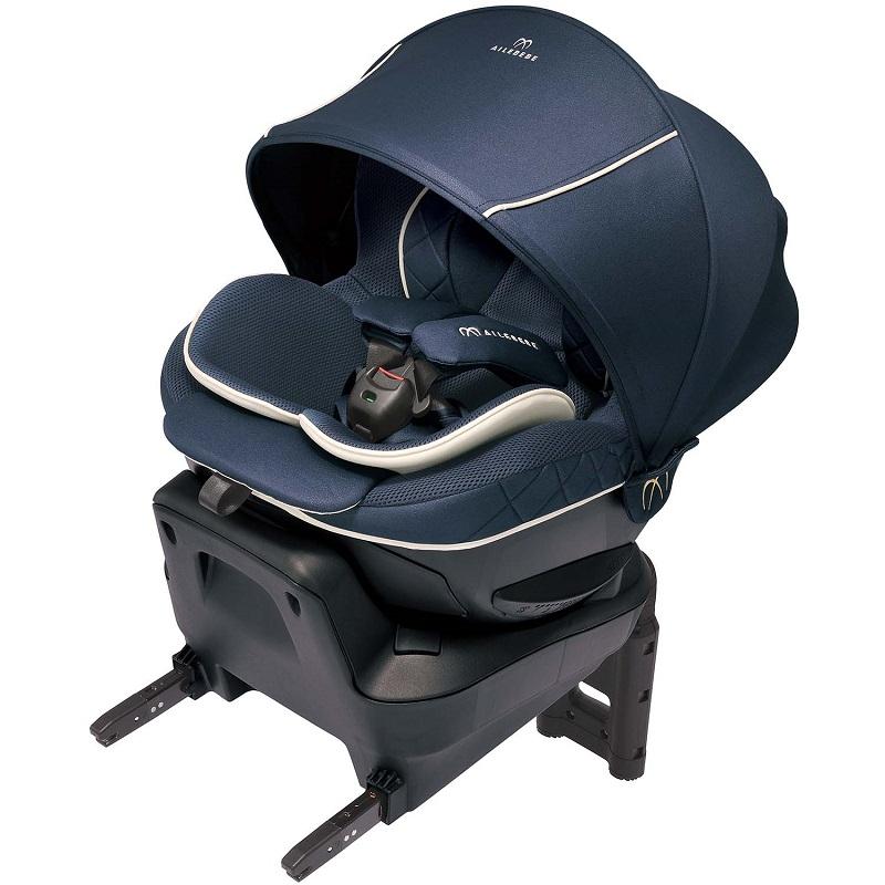 【エールベベ カーメイト】クルット 6i グランス グランネイビー BF952/ISOFIX取付/新生児からの回転式チャイルドシート/洗濯可/KURUTTO/【日本製】AILEBEBE CARMATE トリプル保証/2020