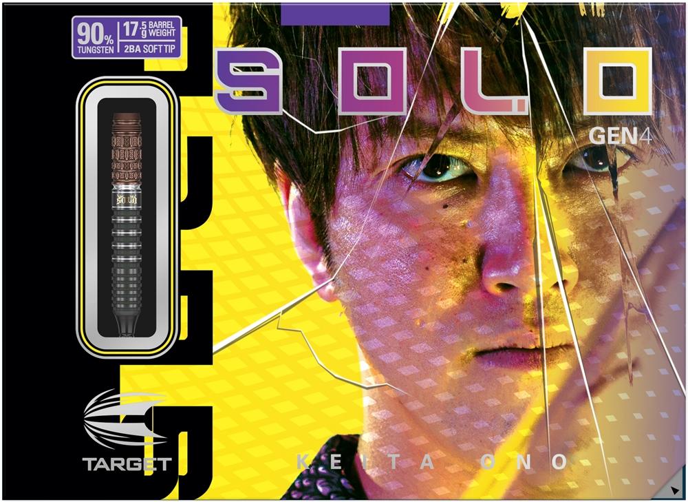 小野恵太選手 SOLO 安心の定価販売 の第四世代が新登場 ダーツ バレル ターゲット 小野恵太 祝日 ソロ TARGET G4