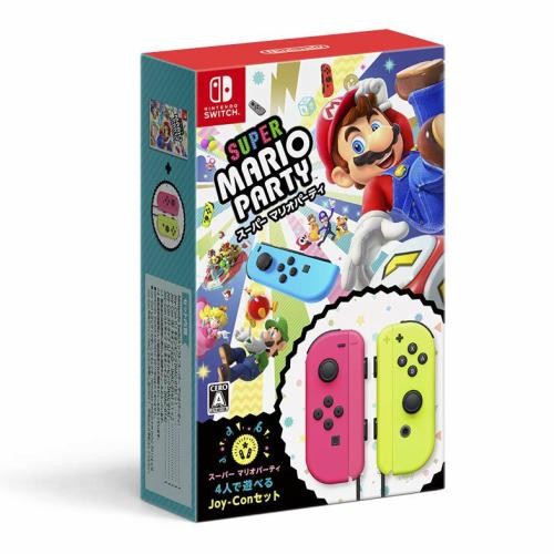 新品/送料無料 スーパー マリオパーティ 4人で遊べる Joy-Conセット 任天堂Switch