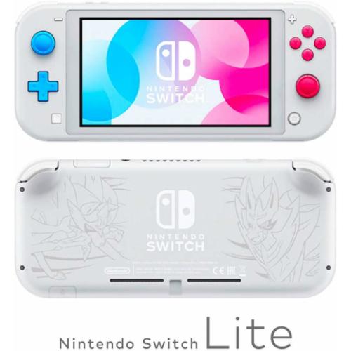 希少品/送料無料 Nintendo Switch Lite ザシアン・ザマゼンタ 任天堂スイッチ 本体ライト