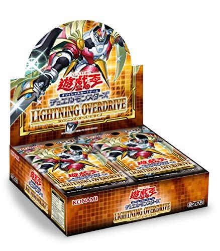 2021 01 16発売 新品 送料無料 BOX デュエルモンスターズ 新着 35%OFF OVERDRIVE 遊戯王OCG LIGHTNING