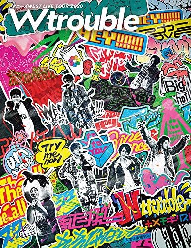 2021/10/06発売 【初回盤DVD予約】 ジャニーズWEST LIVE TOUR 2020 W trouble ジャニーズWEST