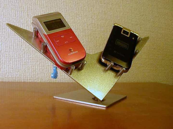 スマホ スタンド ダブル携帯電話スタンド