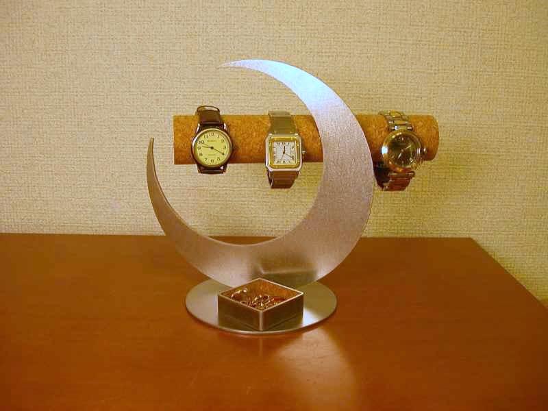腕時計スタンド 三日月角トレイ腕時計スタンド MKT33