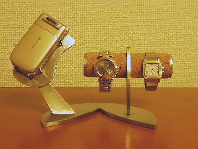 時計 スタンド インテリア携帯電話&腕時計スタンド