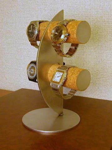 腕時計スタンド ウォッチスタンド 結婚祝い 退職祝い 誕生日プレゼント クリスマス 腕時計ラック 腕時計収納 バレンタインデー 彼氏へプレゼント 腕時計飾る 時計を飾る 腕時計を飾る ウオッチケース 新婚祝い 記念品 三日月ムーン腕時計スタンド スタンダード