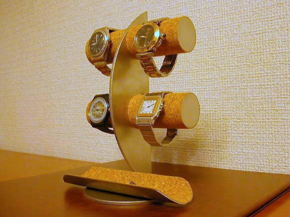 ウォッチ スタンド 送料無料ムーン腕時計ディスプレイスタンド!ロングトレイバージョン