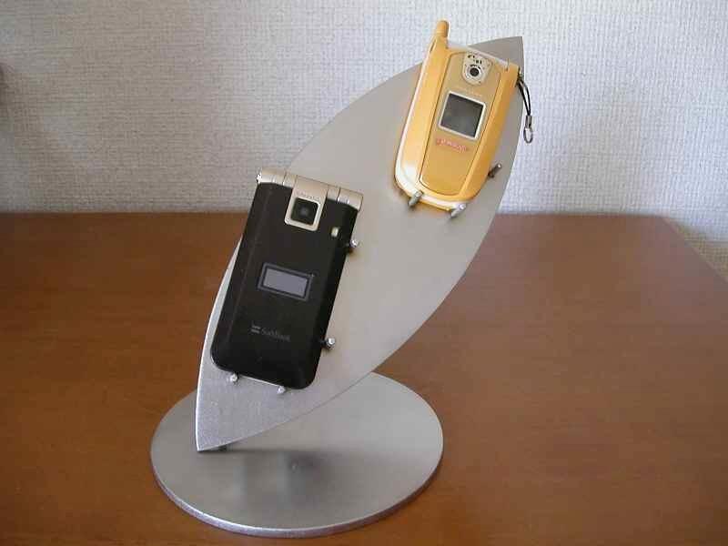 スマホ スタンド 木の葉形携帯電話スタンド
