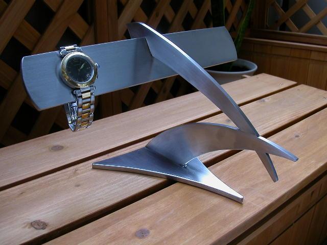 プレゼントに 時計スタンド インテリア腕時計スタンド ザ・イーグル