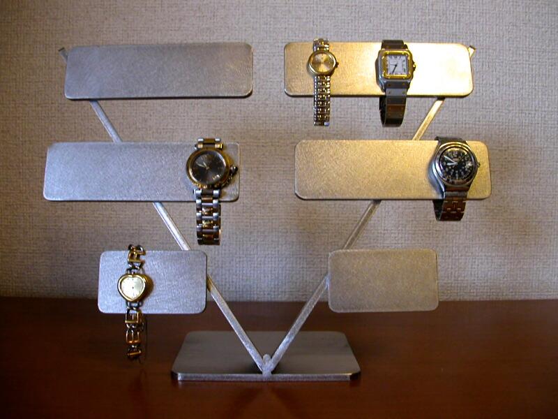 腕時計ケース 10本掛け腕時計スタンド