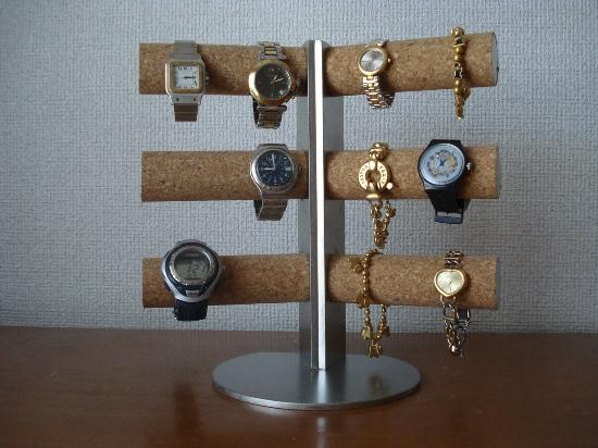 プレゼントに 腕時計スタンド 12本掛け角度付きスタンダード